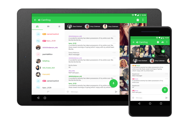 free download camfrog video chat for android